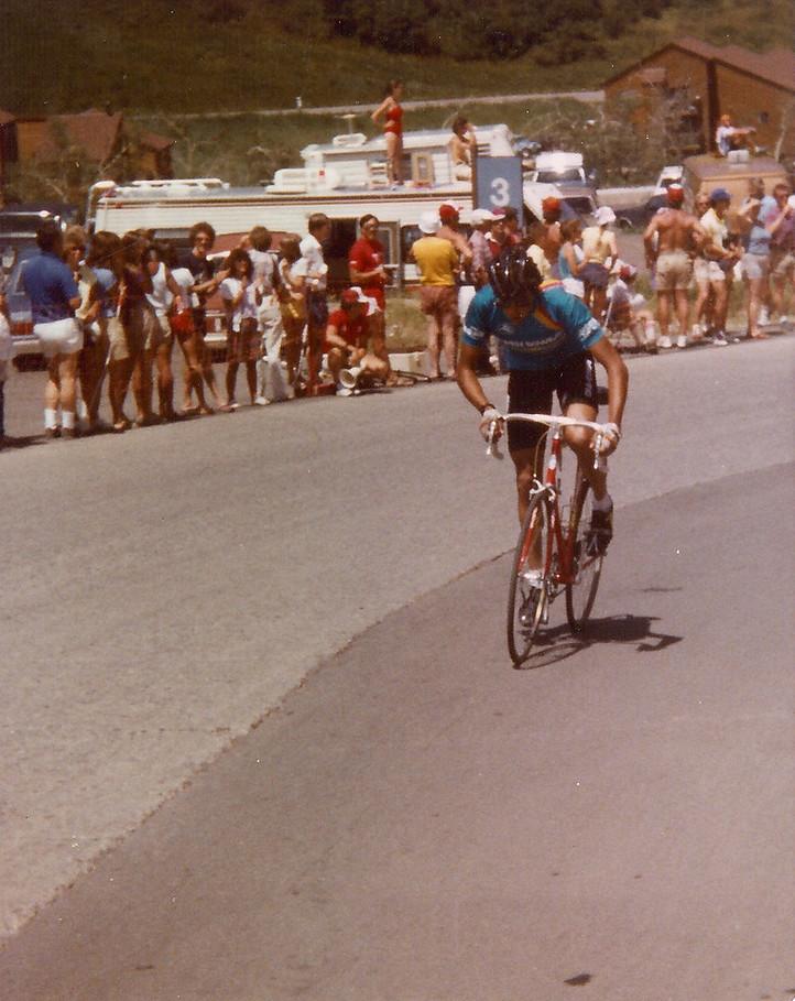 Copper Mountain race in 1984