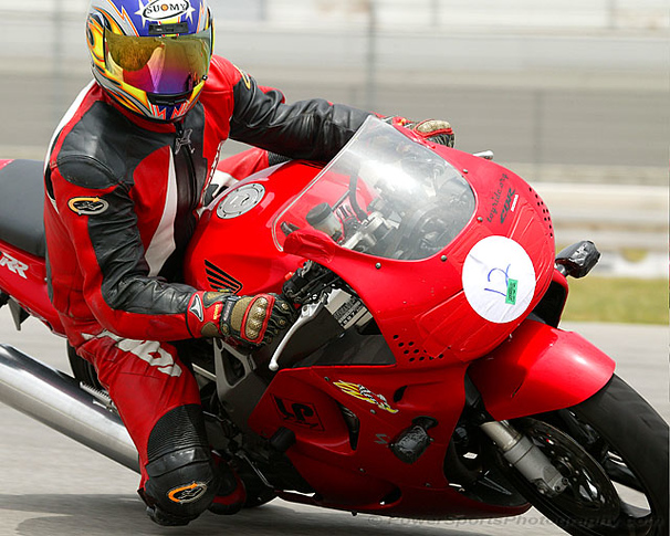 Fast Track Riders trackday at Fontana AMA course. Won a drawing for a Free trackday. This was on my 50th birthday.
